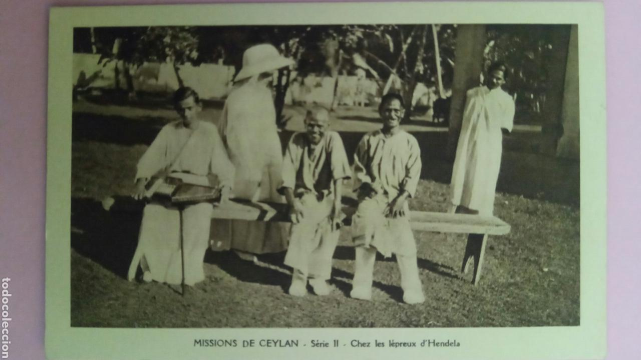Postales: Siete Postales missions de Ceylan missionnaire oblats Maria Inmaculada Misioneros - Foto 6 - 78417109