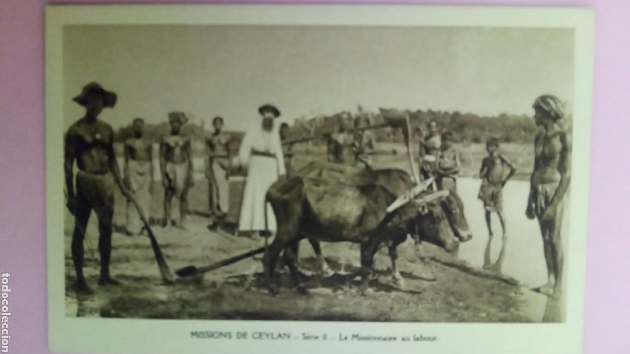 Postales: Siete Postales missions de Ceylan missionnaire oblats Maria Inmaculada Misioneros - Foto 8 - 78417109