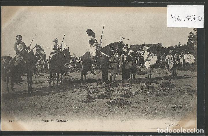 POSTAL ANTIGUA - ETNICA - COSTUMBRISTA -VER FOTOS-(46.870) (Postales - Postales Temáticas - Étnicas)