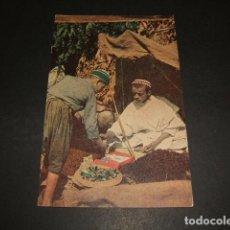 Postales: MARRUECOS EN LA TIENDA DEL ZOCO. Lote 81181336