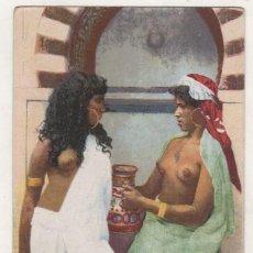 Postales: DESNUDO FEMENINO NORTE DE AFRICA 672 A LA CISTERNE. Lote 87312992