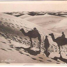 Postales: EGIPTO, PASAJE EN EL DESIERTO, LEHNERT&LANDROCK, SIN CIRCULAR. Lote 87943384