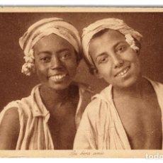 Postales: POSTAL 'LES BONS AMIS', DE LOS AÑOS 1910 L&L ÉDITEURS 135 - NO CIRCULADA. Lote 91021980