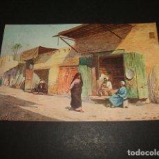 Postales: TANGER ESCENA ARABE POSTAL. Lote 93822355