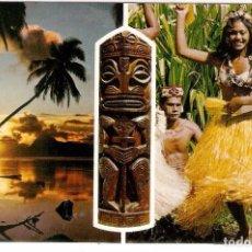 Postales: TAHITI, POSTAL RECUERDO, SIN CIRCULAR. Lote 98013483