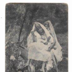Postales: POSTAL MUJER ÁRABE DESNUDA 1910-1920S MANUSCRITA. Lote 100539131