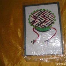 Postales: POSTAL TIBETANA . FAROLILLO. HECHA A MANO EN PAPEL DE ARROZ. CON SOBRE. 14 X 12 CM . Lote 100755347