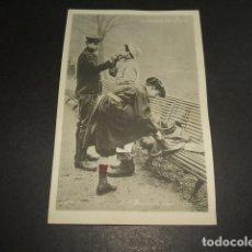 Postales: NIÑOS DE PARIS POSTAL CELULOIDE TRASLUCIDA. Lote 102838695