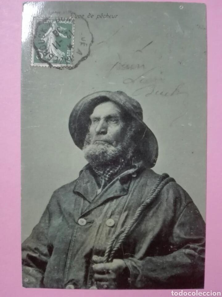 Postales: 2 Postales Francia pescador normando - Foto 2 - 105096531