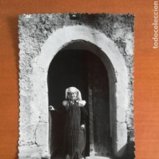 Postcards - Postal Anso Moza ansotana con traje regional - Pirineo aragonés año 1957 - 110256404
