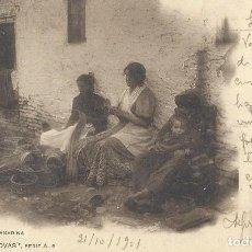 Postales: POSTAL ESTERERIA GRANADINA. COL. CÁNOVAS, SERIE A, 9. 1901.. Lote 111956539