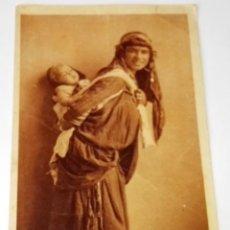 Postales: ANTIGUA POSTAL - BEDUINE ET SON ENFANT / NO CIRCULADA - ORIGINAL. Lote 115172823