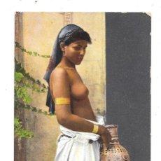 Postales: POSTCARD NUDE NAKED WOMAN AFRICA MOORISH ARAB ETHNIC C1910-1920S REAL PHOTO. Lote 118314411