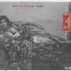 Postales: POSTCARD NUDE NAKED WOMAN AFRICA MOORISH ARAB ETHNIC C1910-1920S REAL PHOTO STAMP . Lote 118314431