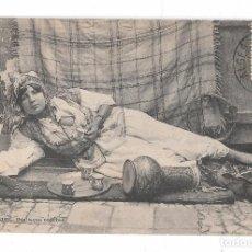 Postales: POSTCARD NUDE NAKED WOMAN AFRICA MOORISH ARAB ETHNIC C1910-1920S REAL PHOTO STAMP . Lote 118314447