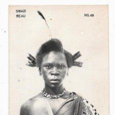 Postales: POSTCARD NUDE NAKED WOMAN AFRICA MOORISH ARAB ETHNIC C1910-1920S REAL PHOTO STAMP . Lote 118314531