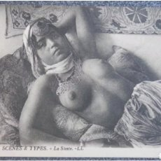 Postales: POSTAL N°6359 SCENES & TYPES LA SIETE. Lote 118859151
