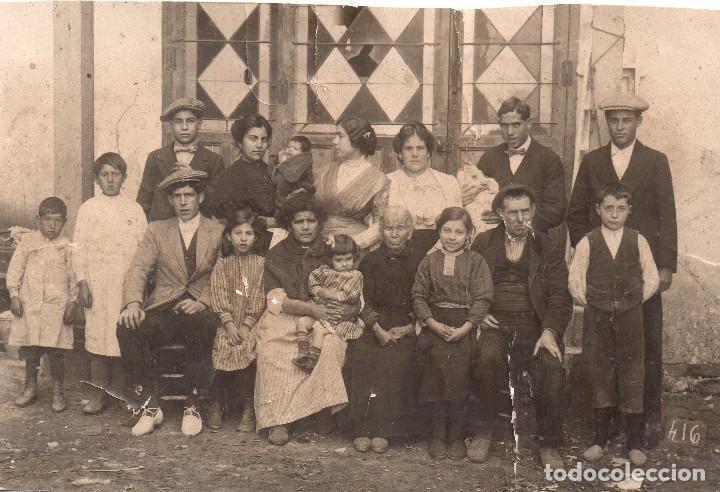 FAMILIA ESPAÑOLA . TARJETA POSTAL UNION POSTALE UNIVERSELLE (Postales - Postales Temáticas - Étnicas)