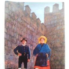 Cartoline: TARJETA POSTAL Nº 1021. BURGOHONDO. AVILA. CANCIONES Y DANZAS SE ESPAÑA. FOURNIER. VICTORIA. Lote 122965187