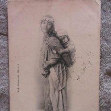 Postales: TUNISIE BEDOUINE AVEC ENFANT. COLL. DECONCLOIT Nº 112. 1900-1910. Lote 125342479