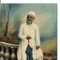 Postales: INDIA BRITANICA -SACEDORTE PARSI- 1900. Lote 127804855