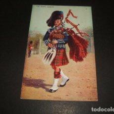 Postales: GAITERO ESCOCES POSTAL. Lote 128771731