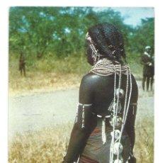 Postales: ANGOLA.- MUJER MUILA. EDITORIAL MIES. ÁFRICA- SIN CIRCULAR . Lote 128988255