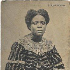 Postales: A KROO WOMAN .- EDICION S & H Nº 13 S/C . Lote 136267194
