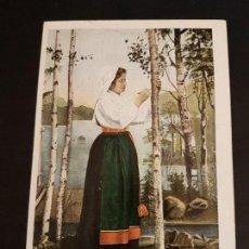 Postcards - POSTAL ETNICA MUJER CON TRAJE TIPICO - 140907374