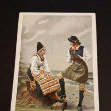 Postales: POSTAL ETNICA MUJER CON TRAJE TIPICO. Lote 140907758