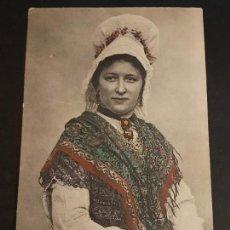 Postcards - POSTAL ETNICA MUJER CON TRAJE TIPICO - 140908226