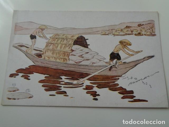 Postales: LE RIZ D`INDO-CHINE. LOTE DE 5 POSTALES ILUSTRADAS DE DICHA SERIE FRANCESA. SIN USO - Foto 4 - 141899934