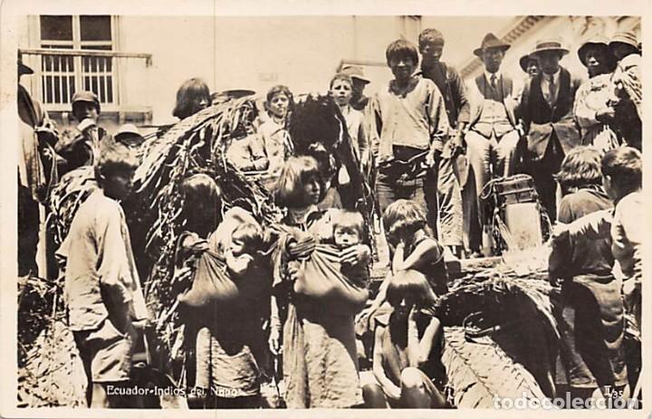 ECUADOR.- INDIOS (Postales - Postales Temáticas - Étnicas)
