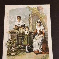 Postales: SUIZA MUJERES TIPOS POSTAL ETNICA. Lote 155267774