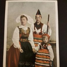 Postales: SUIZA MUJERES TIPOS POSTAL ETNICA. Lote 155268050