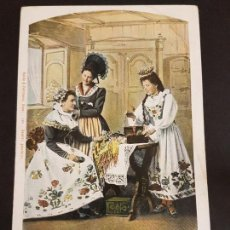 Postales: SUIZA MUJERES TIPOS POSTAL ETNICA. Lote 155268098