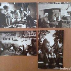 Postales: CONJUNTO DE 4 POSTALES ETNICAS (CERDEÑA-ITALIA) CIRCULADAS 1930 LACONI/TEULADA/DESULO. Lote 158025598