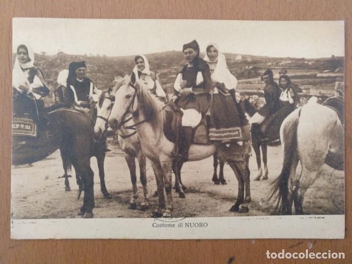 Postales: CONJUNTO DE 3 POSTALES ETNICAS (CERDEÑA-ITALIA) CIRCULADAS 1932-1939 NUORO COSTUMI - Foto 5 - 158025850