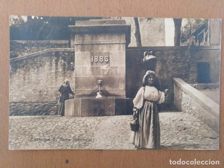 POSTAL ETNICA COSTUMI DE BONO (CERDEÑA-ITALIA) CIRCULADA 1932 (Postales - Postales Temáticas - Étnicas)