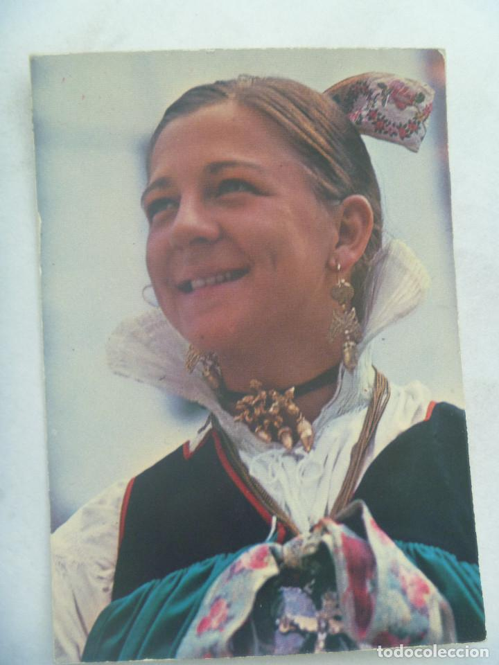 POSTAL DE HECHO ( PIRINEO ARAGONES ): TRAJE POPULAR (Postales - Postales Temáticas - Étnicas)