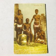 Postales: POSTAL ÉTNICA CON MUJERES ZULUS. YOUNG ZULU GIRLS. Lote 162673790