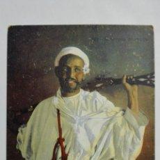 Postales: ANTIGUA POSTAL, GUERRERO MARROQUI, Nº 591, FOTOGRAFIA LEHNERT & LANDROCK, TUNEZ. Lote 165197570