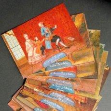 Postales: LOTE 16 POSTALES SERIE MESTIZAJES. MUSEO DE AMÉRICA. COBRES ANÓNIMOS S XVIII. Lote 171316589