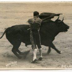 Postales: EL TORERO JUAN BELMONTE, FOTOGRAFÍA BALDOMERO, MADRID, POSTAL FOTOGRÁFICA, TOROS, TAUROMAQUIA. Lote 171364929