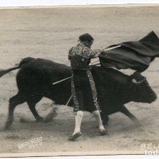 Postales: EL TORERO JUAN BELMONTE, FOTOGRAFÍA BALDOMERO, MADRID, POSTAL FOTOGRÁFICA, TOROS, TAUROMAQUIA . Lote 171365053