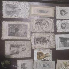 Postales: LOTE DE 14 ESTAMPAS TROQUELADO. Lote 171562253