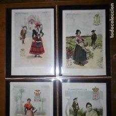Postales: COLECCIÓN COMPLETA DE 50 POSTALES DE MUJERES ESPAÑOLAS - CALLEJA. Lote 172053208