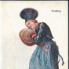 Postales: POSTAL MUJER CON TRAJE VORALBERG - AUSTRIA - BKW I 547 13. Lote 172141609