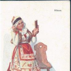 Postales: POSTAL MUJER CON TRAJE BOHMEN - REPUBLICA CHECA - BKW I 547 1. Lote 172141838