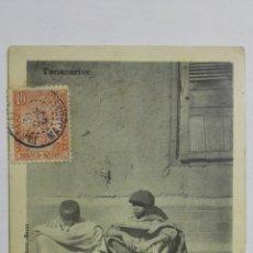 Postales: ANTIGUA POSTAL TANANARIVE - TYPES DE BOTOS, GAMINS DES RUES, ORIGINAL, AÑO 1905. Lote 172835318